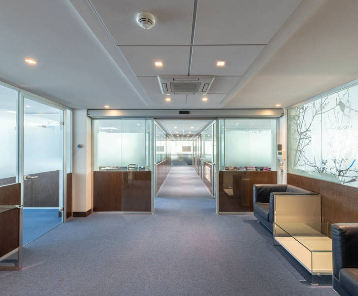 large modern offices in fontvieille